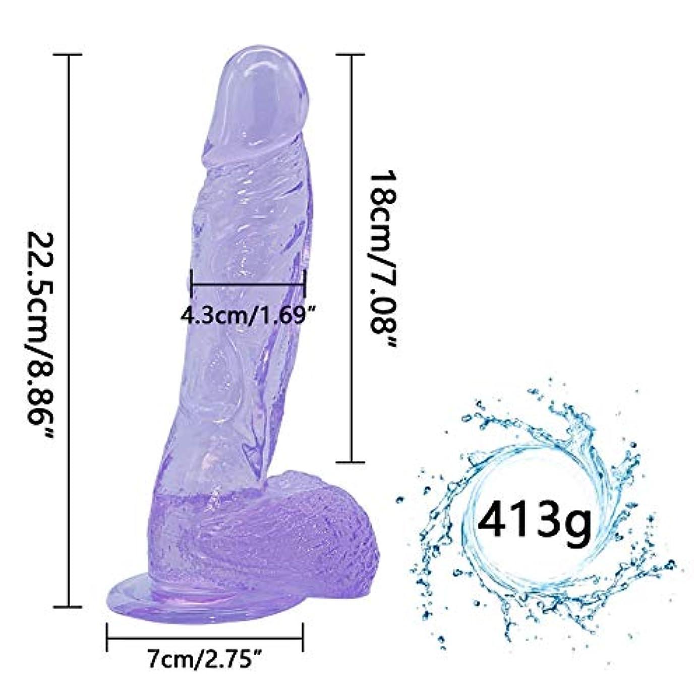 スナック明確に不適当ChenXiDian 巨大な洞8.86インチのリアルなマッサージャー強力なサクションカップボディマッサージを備えた巨大なマッサージャー-機密配送-慎重な配送-出会いは秘密です 本当の感触