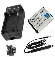 バッテリー+充電器for Nikon Coolpix s100、s2500、s2550、s2600、s2700、s2750デジタルカメラ