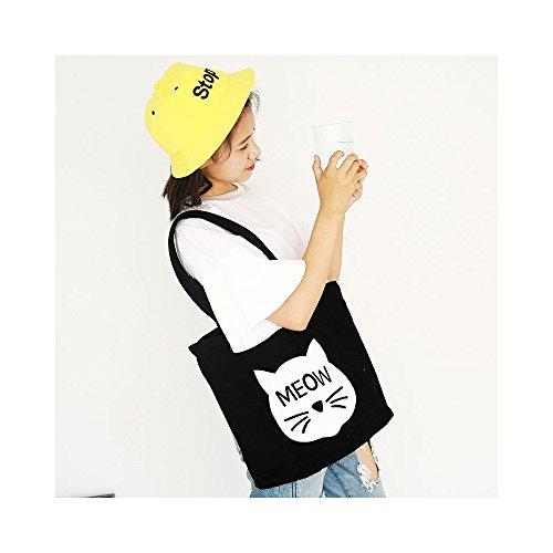 トートバッグ キャンバス 通勤、通学 男女兼用大人気手提げバッグ 布製、柄あり、軽くて折り畳める便利なバッグ YFBY (001)