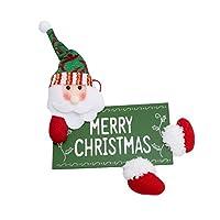 MARUIKAO クリスマスドア掛け 玄関飾り ハウスナンバー クリスマスツリー飾り クリスマス装飾 掛け装飾 家庭 パーティー type3