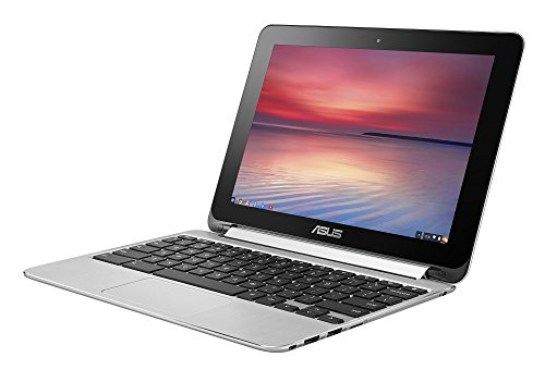 ASUS Chromebook Flip ノートパソコン C100PA/Chrome OS/10.1型/Quad-Core RK3288C/2G/eMMC 16GB/タッチ/C100PA-RK3288 -