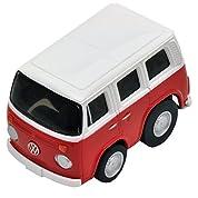 チョロQ zero Z-35a VWマイクロバス (赤/白)