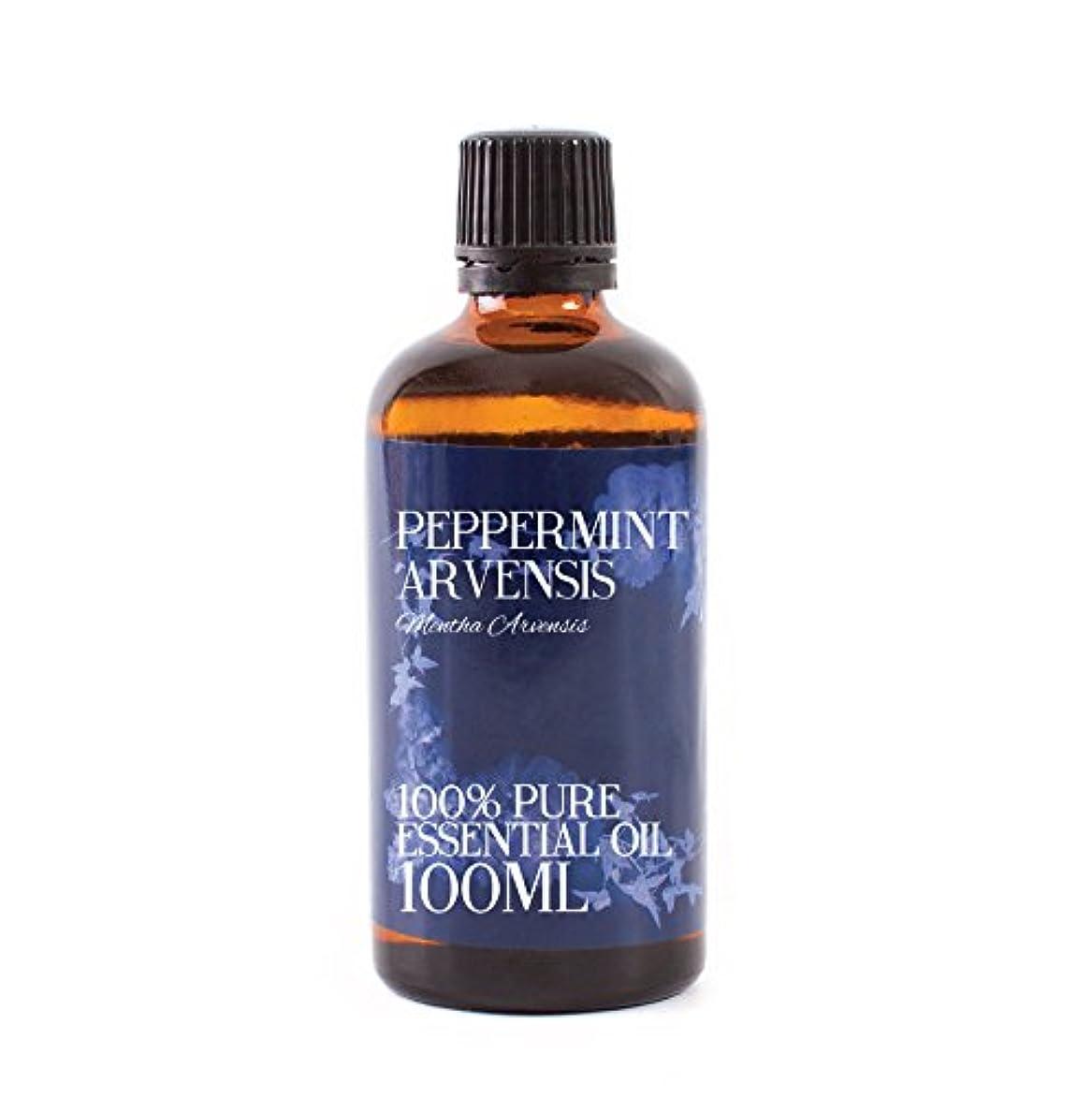 以上創傷破滅的なMystic Moments | Peppermint Arvensis Essential Oil - 100ml