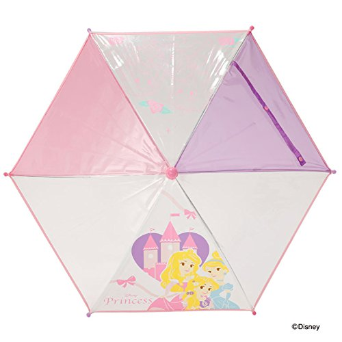 【Disney】キッズ・ベビー キャラクター ビニール傘 40cm (プリンセス)