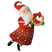 Hallmark 2016 Christmas Ornaments Jingle All The Way Santa 【Creative Arts】 [並行輸入品]