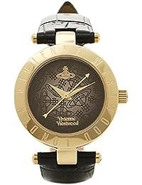(ヴィヴィアンウエストウッド) Vivienne Westwood ヴィヴィアンウエストウッド 時計 VIVIENNE WESTWOOD VV092BKBK ORB オーブ レディース腕時計ウォッチ ブラック/ゴールド [並行輸入品]