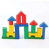goodsceneクリエイティブpull-alongおもちゃ木製ビルディングブロックTrain Pull Alongおもちゃfor子供早期教育
