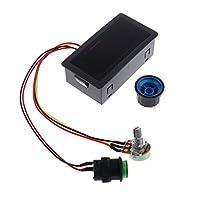 Dolity PWMモータ 速度コントローラ 6V 12V 24V DCモータ 無段階速度制御 デジタル ディスプレイ