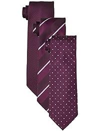 [アオキ] ネクタイ 絶対お得な洗えるネクタイ3点セット 洗濯ネット付 【選べるカラーバリエーション】ビジネス/就活/父の日 メンズ ASET18A900