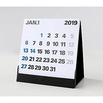 2019年度版 aruデザインカレンダー 卓上 DSM-01