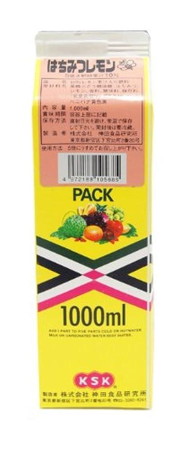 バンのためにサポート神田食品研究所 ハチミツレモン (コンク) 1000ml