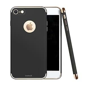 Inateck iPhone 7 ケース スリム 小型 カバー 衝撃吸収 バンパー アップル アイフォン7 4.7インチ対応、ブラック