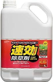 IRIS OHYAMA 愛麗思歐雅瑪 除草劑 速效除草劑 4升 可直接使用 SJS-4L