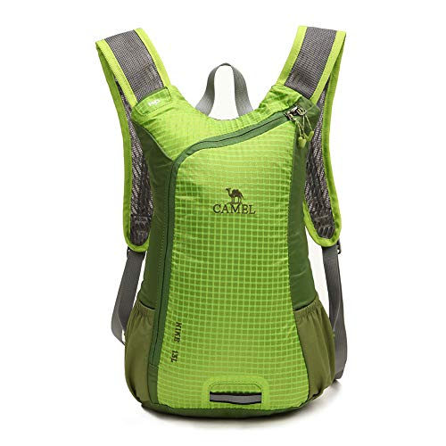サイクリングバッグ CAMEL CROWN ハイキングバックパック アウトドア リュック 鞄13L容量 超軽量 通気 防水 登山バッグ リュックサック ハイキング 防災 旅行兼用