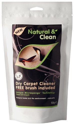 Natural and Clean Dry Carpet C...
