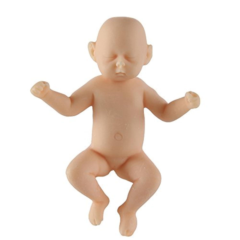 Reborn Baby Boy DollsリアルなMini子Lifelikeフルアジアボディ新生児人形3.46