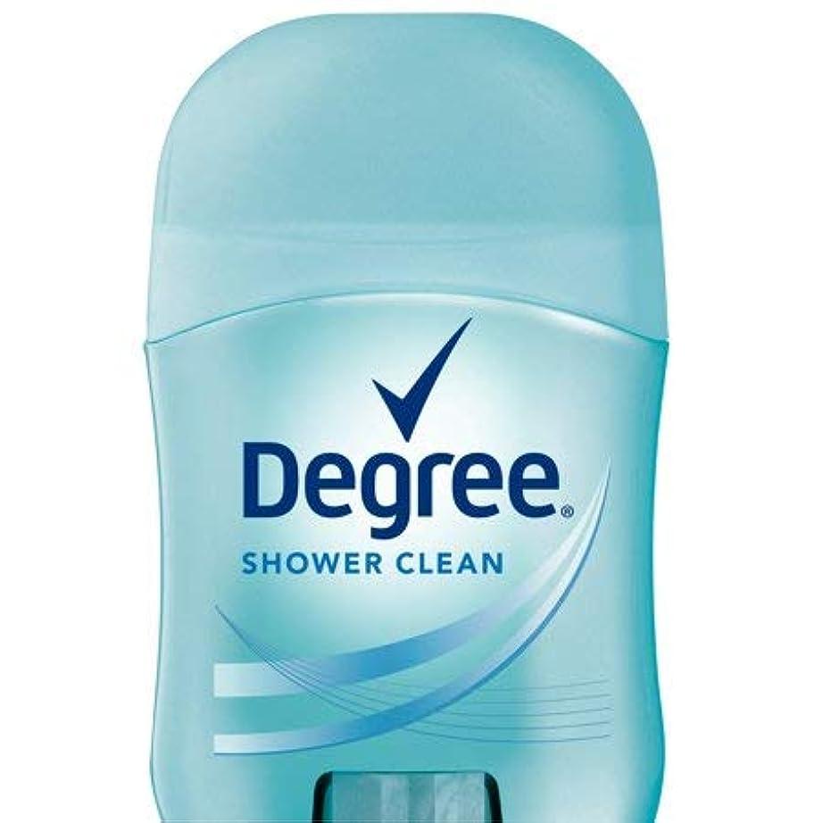 心理的後悔解明Degree Women Shower Clean Dry Protection Antiperspirant Deodorant, 0.5 oz (14g) [並行輸入品]