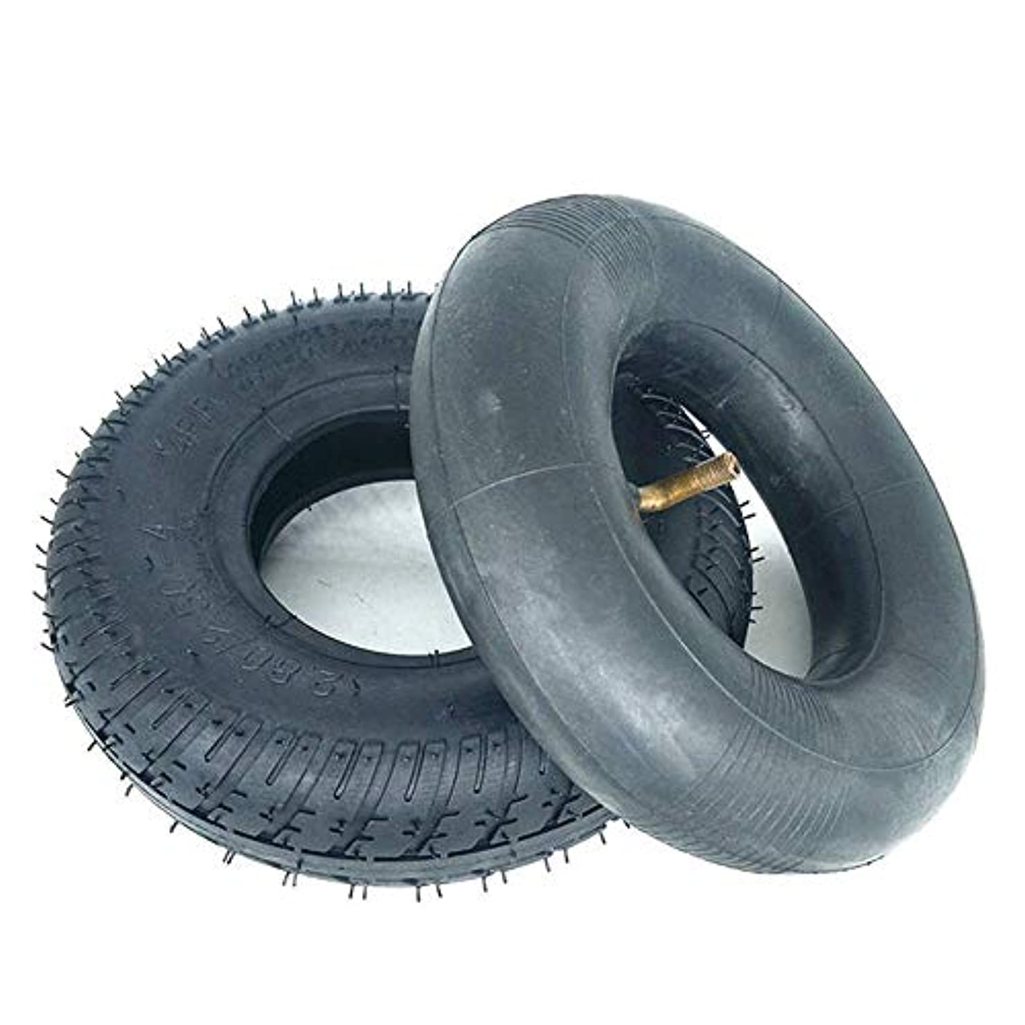 トリクル超越するロック電動スクータータイヤ、2.80-2.50-4インナータイヤおよびアウタータイヤ、高弾性ゴム、滑り止めおよび耐摩耗性、シニアスクータータイヤアクセサリー