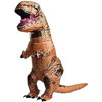 FLORASHOW 恐竜コスプレ 恐竜着ぐるみ ティラノサウルス 怪獣 ハロウィン イベント コスプレ コスチューム 膨らむ (恐竜)
