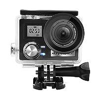 Marorunjp アクションカメラ 4k Mini DV スポーツカメラ Wi-Fiモデル 30M防水2.0インチ液晶