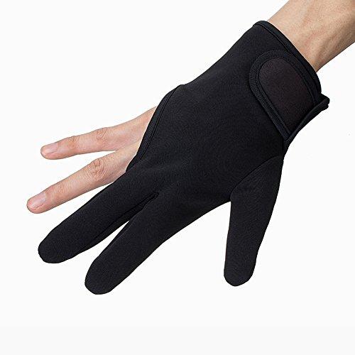 ヘアアイロン耐熱手袋 綿 火傷防止 3フィンガー 美容用品 1枚...