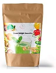 Green Delight Smoothie(グリーンディライトスムージー)置き換え スムージーダイエット 植物酵素 乳酸菌 チアシード トロピカルフルーツ【安心の国内産】