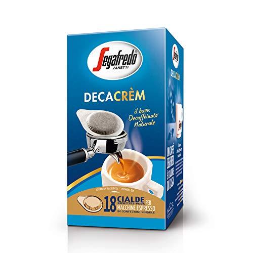 セガフレード・ザネッティ デカ クレム カフェポッド 18袋 (カフェインレスコーヒー)