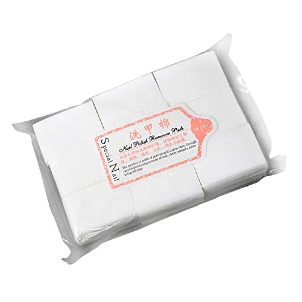 耐えられない干渉する予想するネイルアートジェルポリッシュ リムーバーワイプ 拭き取り 化粧品 コットンパッド