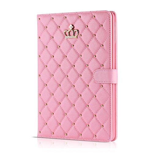 【hayarifashion】iPad Air2 ケース、iPad mini3 スマート カバー 自動スリープ 傷つけ防止「スタンド機能」二つ折ケース  iPad2/3/4/5/6/Air1/Air2/mini1/2/3対応 (iPad2/3/4, ピンク)