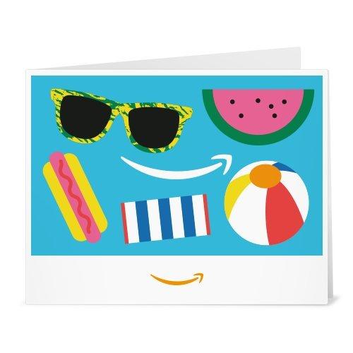 Amazonギフト券- 印刷タイプ(PDF) - Amazonスマイル(夏)