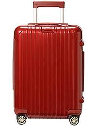 [ リモワ ] Rimowa サルサデラックス 830.52.53.4/873.52 スーツケース 4輪 32L キャビンマルチホイール オリエンタルレッド Salsa Deluxe キャリーケース [並行輸入品]