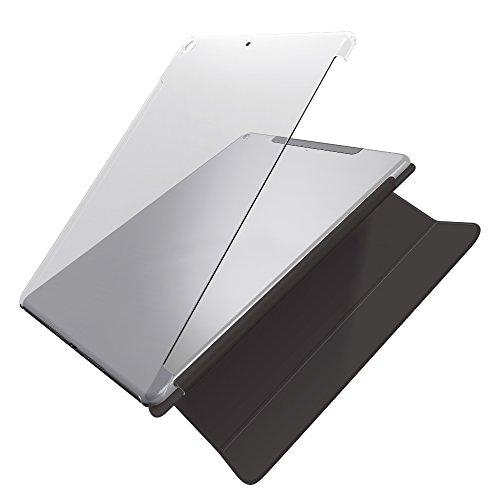 エレコム 9.7インチiPad 2017年モデル シェルカバー 純正スマートカバー対応 クリア TB-A179PV2CR