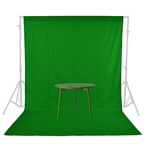 撮影布バック グリーン 撮影バックグラウンド 180×270cm 大判 コットン100% 厚手 無反射 モデル撮影 大型商品 バックシート グリーン