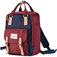Republik Premium Waterproof Laptop Backpack- Hand Stitched with Adjustable Padded Shoulder Straps & Carry Handle for Easy Travel- Perfect University or School Backpack in Six Vibrant Colours