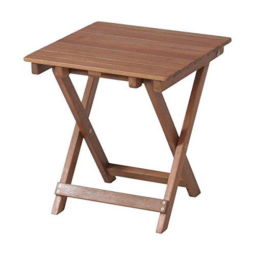 不二貿易 サイドテーブル 35cm×35cm ナチュラル 7...