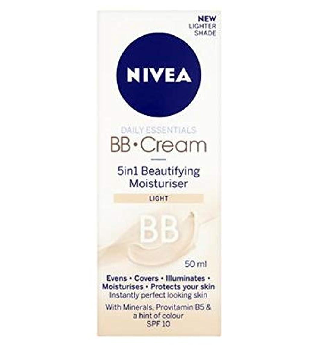 サーバント寄生虫ロープ[Nivea ] 1つの美容保湿光50ミリリットルでNivea?日常必需品のBbクリーム5 - Nivea? Daily Essentials Bb Cream 5 In 1 Beautifying Moisturiser...