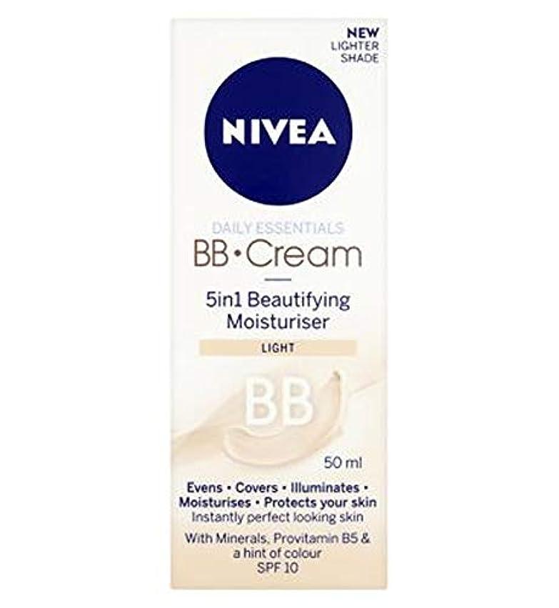 容赦ない遅れ蜜[Nivea ] 1つの美容保湿光50ミリリットルでNivea?日常必需品のBbクリーム5 - Nivea? Daily Essentials Bb Cream 5 In 1 Beautifying Moisturiser...