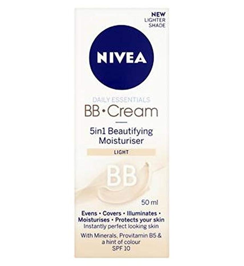 中国悲観主義者不機嫌[Nivea ] 1つの美容保湿光50ミリリットルでNivea?日常必需品のBbクリーム5 - Nivea? Daily Essentials Bb Cream 5 In 1 Beautifying Moisturiser...