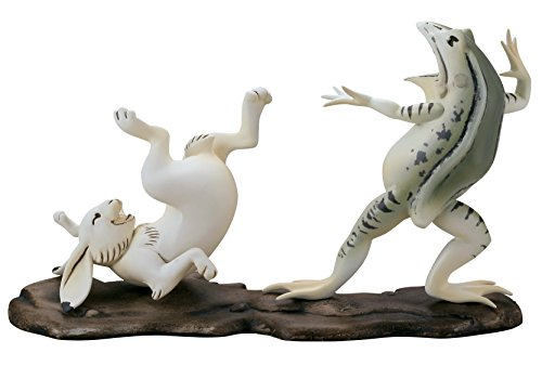 海洋堂 美術作品立体図鑑 鳥獣戯画 全長約132mm ポリストーン製 塗装済み完成品