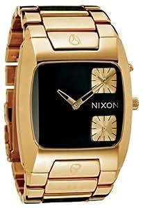 [ニクソン]NIXON 腕時計 THE BANKS ALL BLACK GOLD NA060510 メンズ [正規輸入品]