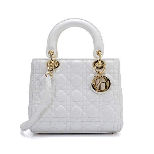Dior(ディオール) ショルダーキャリー LADY DIOR バッグ ラムスキン CAL44550 [並行輸入品]