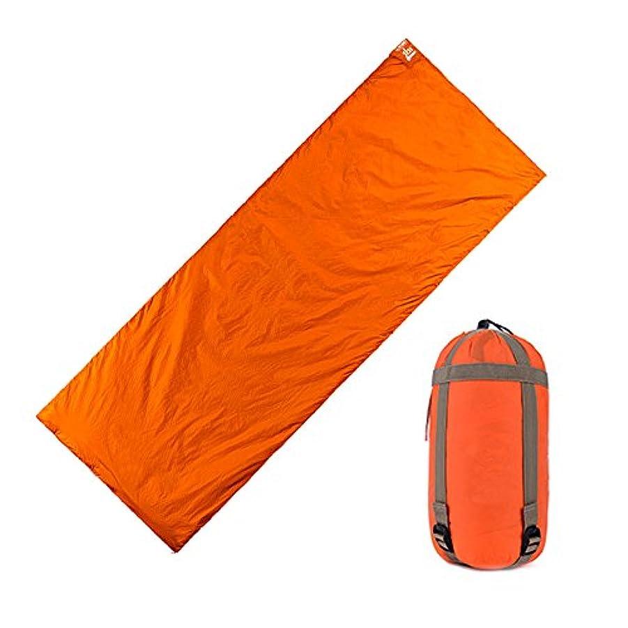 ランプ光沢のある重力スピー堂 寝袋 スリーピングバック シュラフ 封筒型 軽量 丸洗い可能 登山 キャンプ 地震 快適温度15℃ 収納袋付き