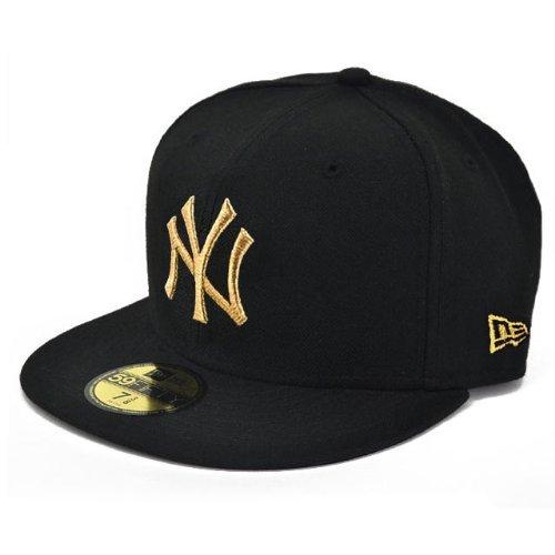 NEW ERA ニューエラ NEWERA CAP YANKEES(MLB)BLACK/GOLD N0001622 ニューエラ キャップ ヤンキース ブラック/ゴールド (7(55.8cm))
