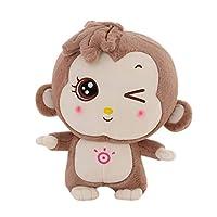 [HSFEO]ぬいぐるみ 動物 猿 かわいい 大きい 抱き枕 ふわふわ もちもち 癒し効果 プレゼント バレンタインデー/ホワイトデー 彼女へ 誕生日/記念日 店飾り 置物 ベッドサイド ブラウン50