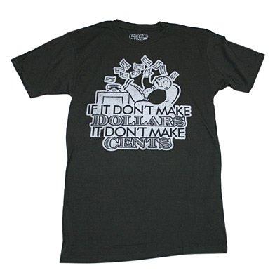 モノポリー IF IT DON'T MAKE Tシャツ Sサイズ [並行輸入品]