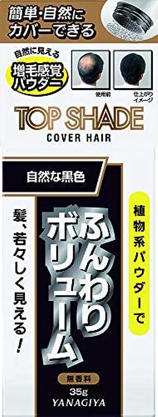 トップシェード カバーヘアー (自然な黒色)