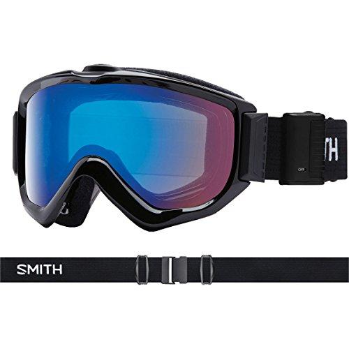 18-19 SMITH (スミス) ゴーグル KNOWLEDGE TURBO FAN BLACK ノーリッジ ターボファン アジアンフィット ジャパンフィット スノーボード スキー