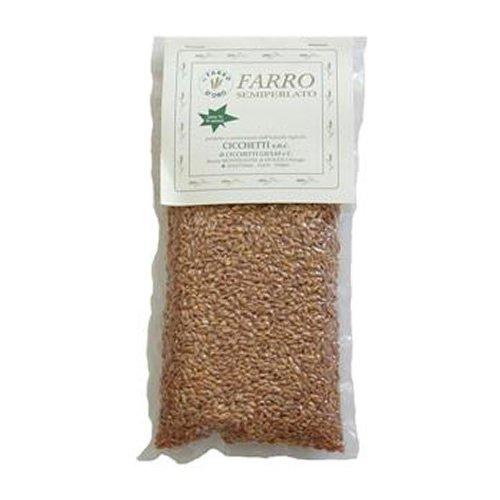 ファッロ<スペイト小麦></p> セミペルラート(半精麦) 500g