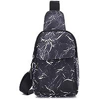 COAFIT Sling Bag Adjustable Casual Sling Backpack Chest Bag for Unisex Adults