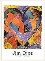 ポスター ジム ダイン Monotypes et gravures 1983 額装品 ウッドベーシックフレーム(ホワイト)